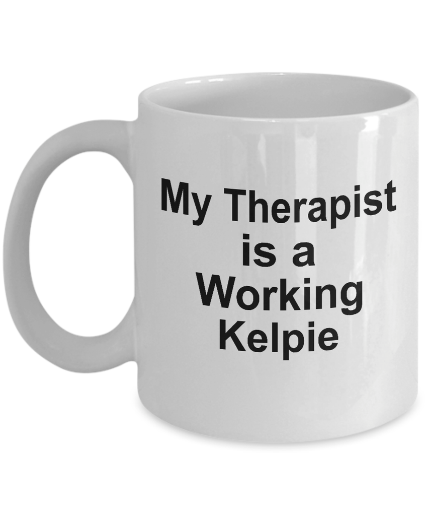 Working Kelpie Dog Therapist Coffee Mug