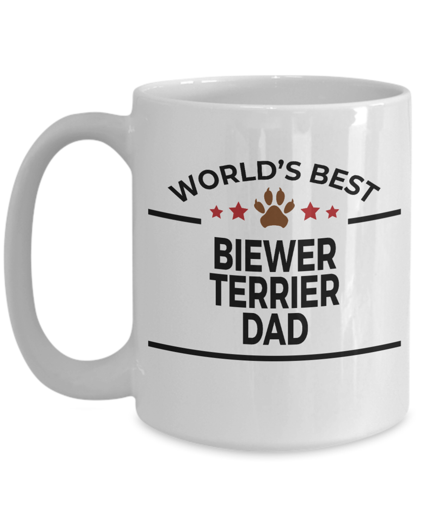 Biewer Terrier Dog Dad Coffee Mug