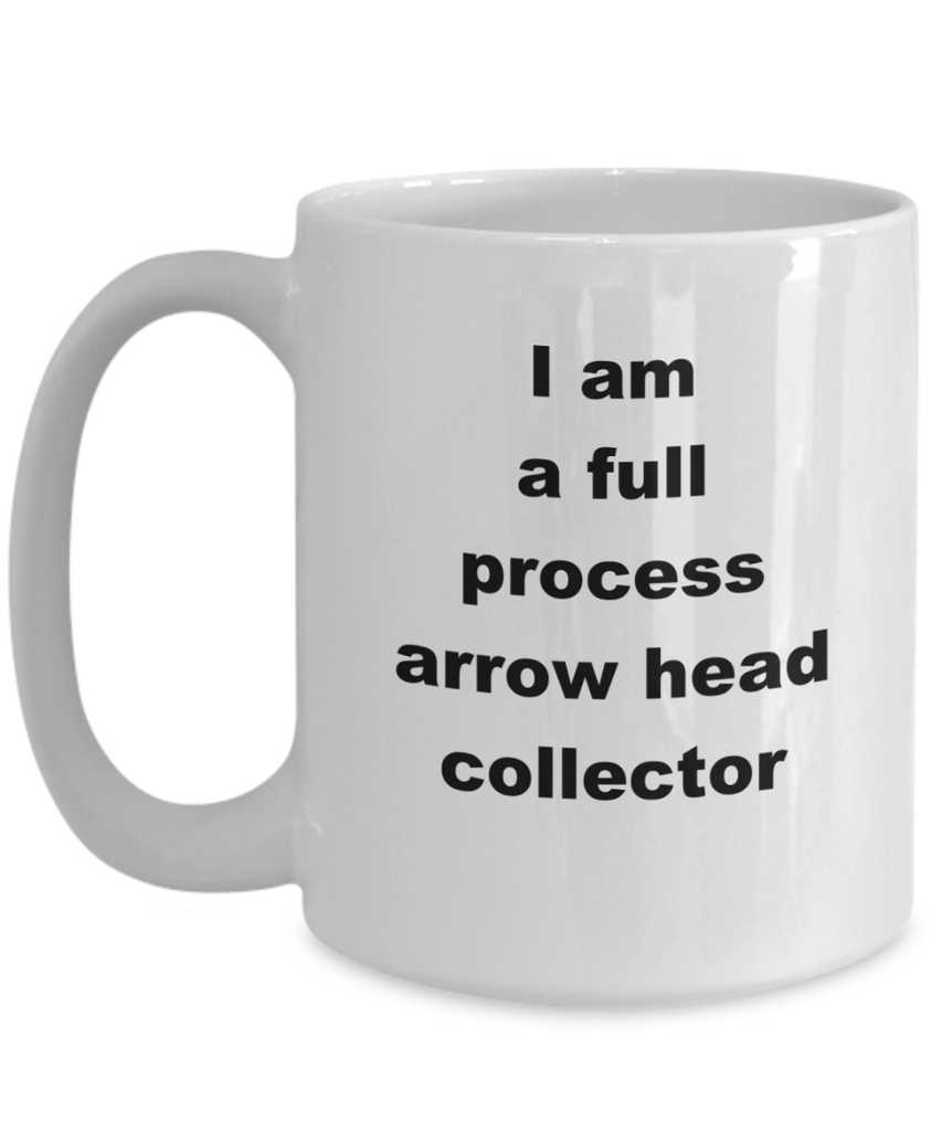 Arrow Head Collector Coffee Mug