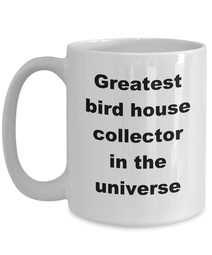 Bird House Collector Coffee Mug