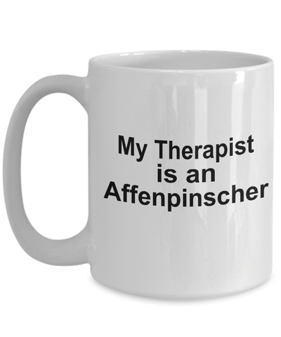 Affenpinscher Dog Therapist Coffee Mug