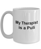 Puli Dog Owner Lover Funny Gift Therapist White Ceramic Coffee Mug