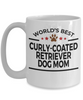 Curly-Coated Retriever Dog Mom Coffee Mug