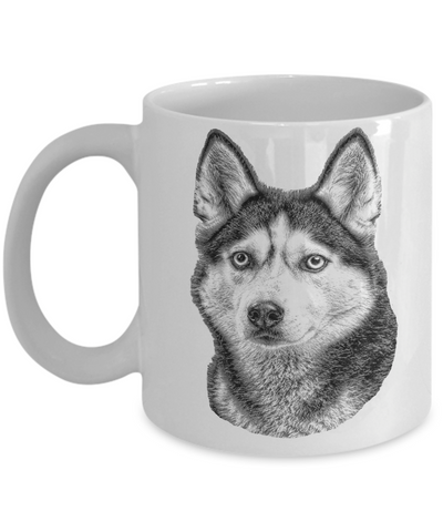 Siberian Husky Dog Breed Mom Mug