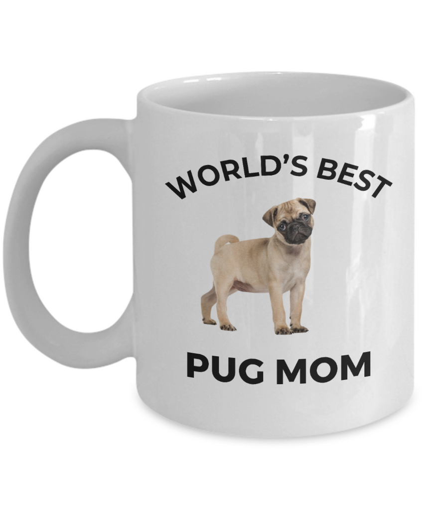 Pug Puppy Dog Mom Coffee Mug