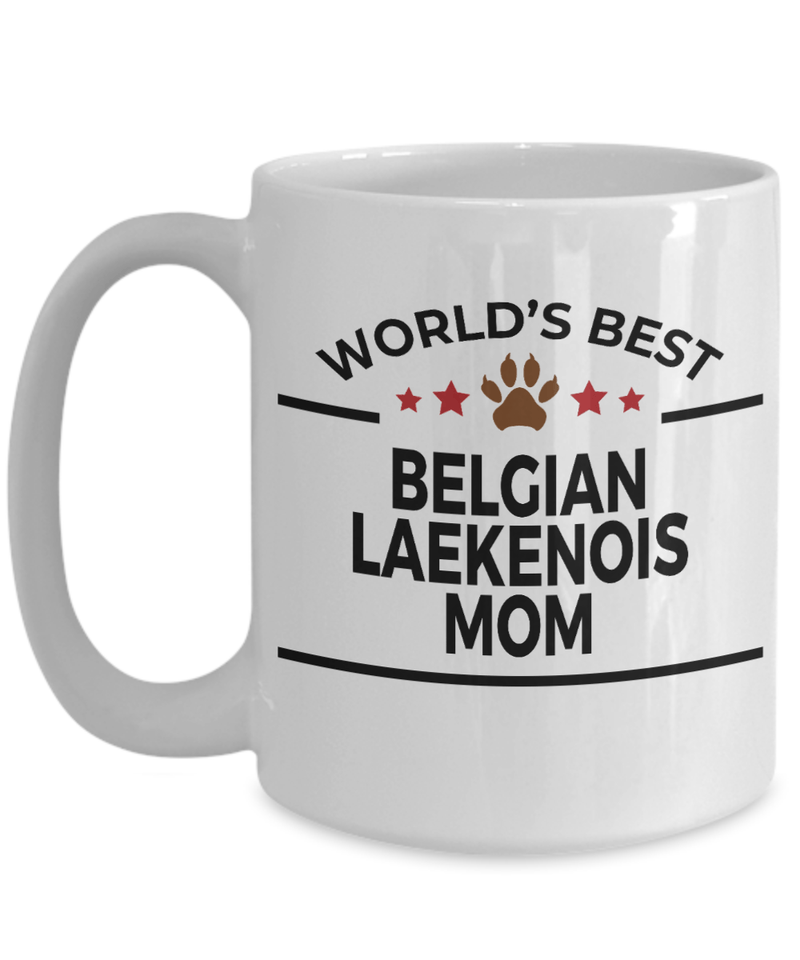 Belgian Laekenois Dog Mom Coffee Mug