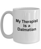 Dalmatian Dog Owner Lover Funny Gift Therapist White Ceramic Coffee Mug