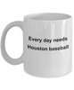 Houston Baseball Fan Gift Coffee Mug
