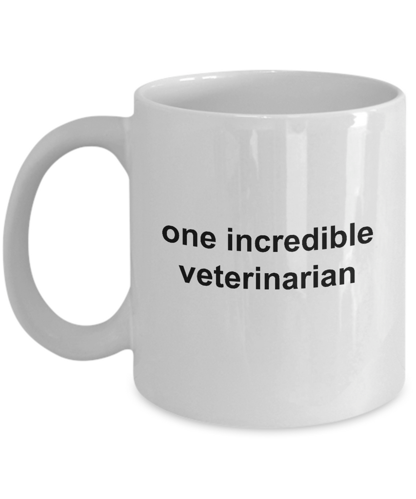 One Incredible Veterinarian Coffee Mug
