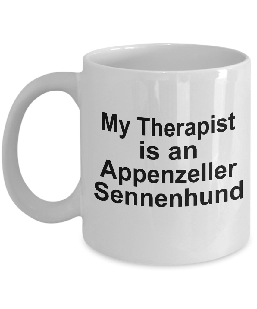 Appenzeller Sennenhund Dog Owner Lover Funny Gift Therapist White Ceramic Coffee Mug
