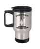 Boston Terrier Dog Lover Gift World's Best Mom Birthday Mother's Day Stainless Steel Insulated Travel Coffee Mug