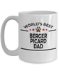 Berger Picard Dog Dad Coffee Mug