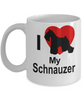 Schnauzer Dog Lover White Ceramic Coffee Mug