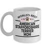 American Staffordshire Terrier Dog Mom Coffee Mug