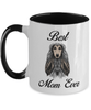 Best Afghan Hound Mom Ever Two Toned Coffee Mugs