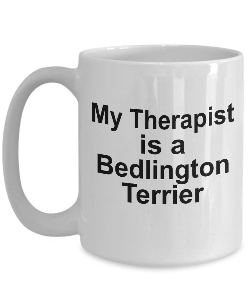 Bedlington Terrier Dog Therapist Coffee Mug