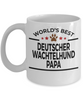 Deutscher Wachtelhund Dog Papa Coffee Mug