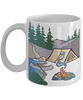 I Love Camping White Ceramic Mug