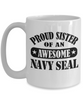 Navy Seal Sister Coffee Mug