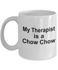 Chow Chow Dog Therapist Coffee Mug