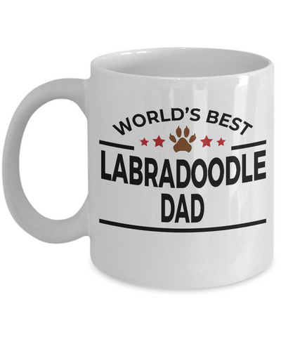 Labradoodle Dog Dad Coffee Mug