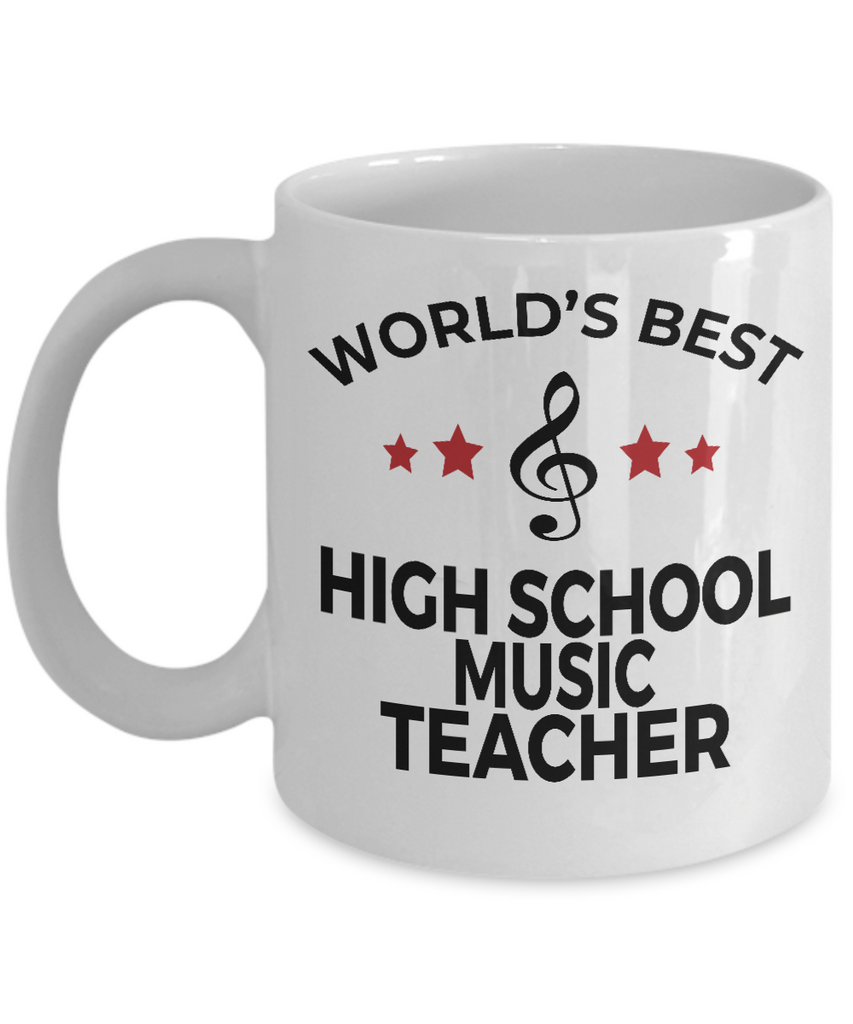 High School Music Teacher Coffee Mug