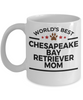 Chesapeake Bay Retriever Dog Mom Coffee Mug