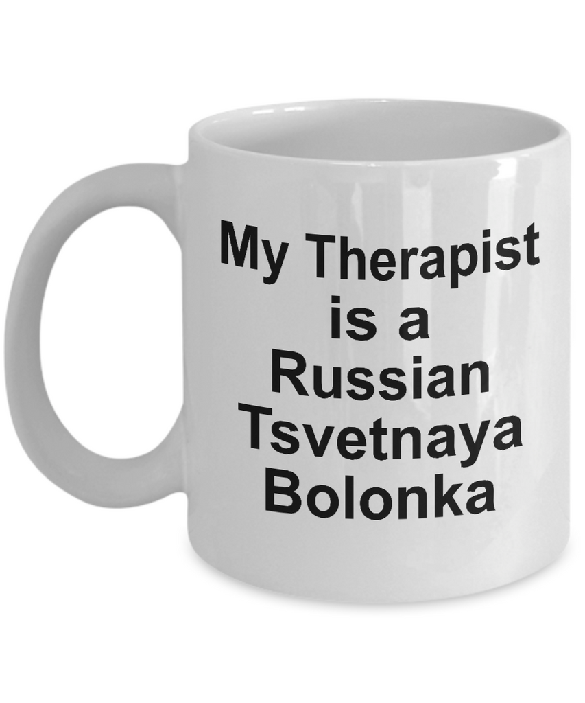 Russian Tsvetnaya Bolonka Dog  Therapist Coffee Mug