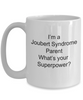 Joubert Syndrome Awareness Parent What's Your Superpower Coffee Mug
