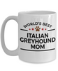 Italian Greyhound Dog Mom Coffee Mug