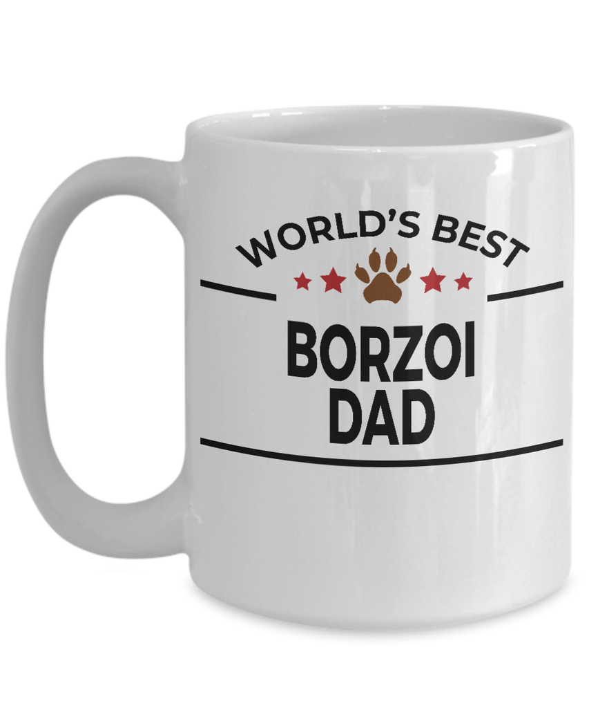 Borzoi Dog Dad Coffee Mug