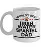Irish Water Spaniel Dog Dad Coffee Mug