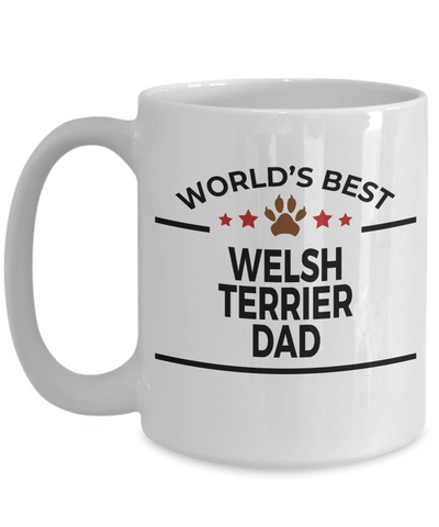 Welsh Terrier Dog Dad Coffee Mug