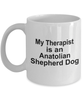 Anatolian Shepherd Dog Therapist Coffee Mug
