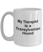 Transylvanian Hound Dog Owner Lover Funny Gift Therapist White Ceramic Coffee Mug