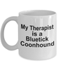 Bluetick Coonhound Dog Therapist Mug