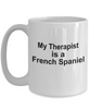 French Spaniel Dog Therapist Coffee Mug