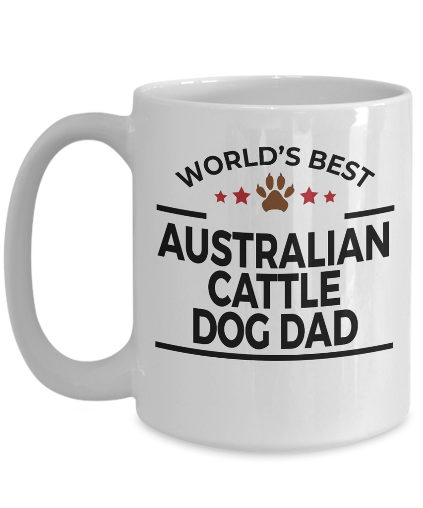 Australian Cattle Dog Lover Dad Coffee Mug