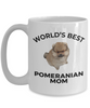 Pomeranian Puppy Dog Mom Coffee Mug