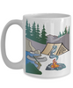 I'd Rather Be Camping White Mug