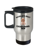Cocker Spaniel Puppy Dog Lover Gift World's Best Mom Birthday Mother's Day Stainless Steel Insulated Travel Coffee Mug