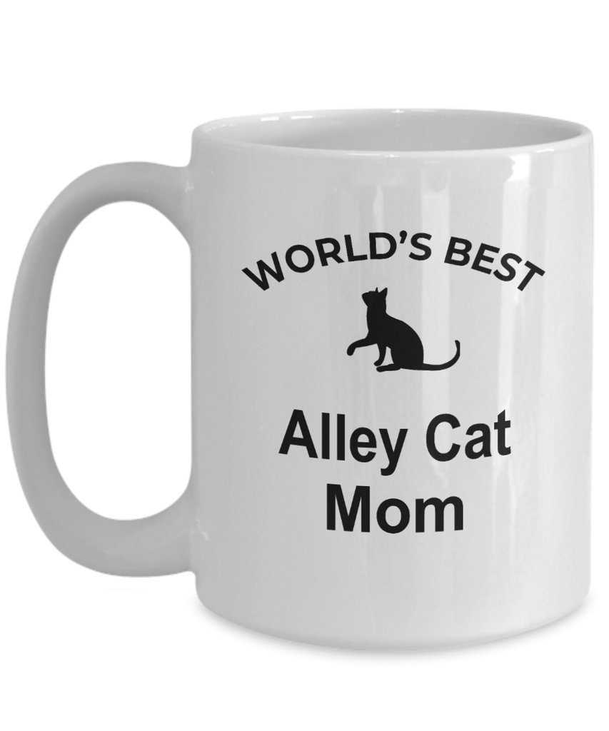 Alley Cat Mom Coffee Mug