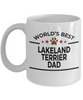 Lakeland Terrier Dog Dad Coffee Mug