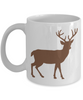 Paw Paw White Mug with Deer