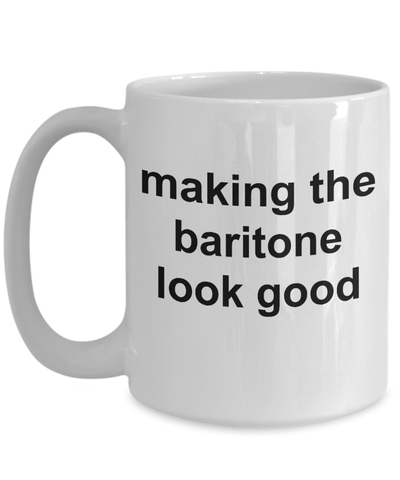 Baritone Player Funny Mug