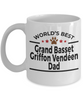Grand Basset Griffon Vendéen Dog Dad Mug