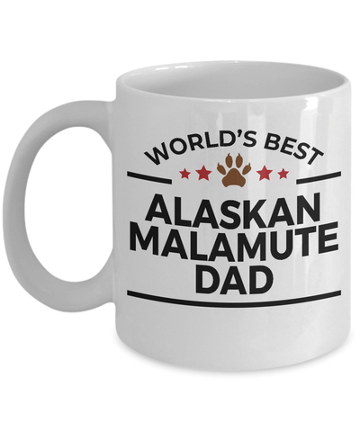 Alaskan Malamute Dog Dad Coffee Mug