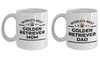 Golden Retriever Mom and Dad Mugs