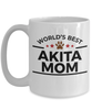 Akita Dog Mom Coffee Mug