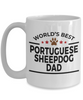 Portuguese Sheepdog Dog Lover Gift World's Best Dad Birthday Father's Day White Ceramic Coffee Mug